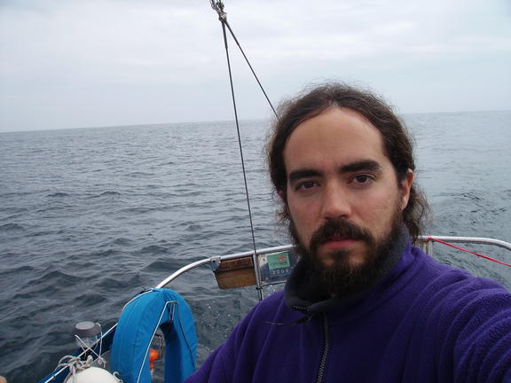 Nacho Vidal in his first solo trip aboard Xebec