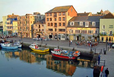 Sutton Harbour y el Barbican de Plymouth